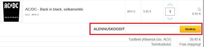 hoopee.fi etukoodi alennuskoodi käyttäminen