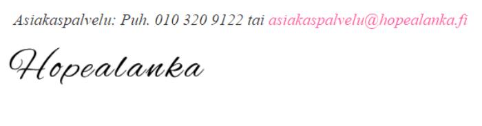 Hopealanka.fi