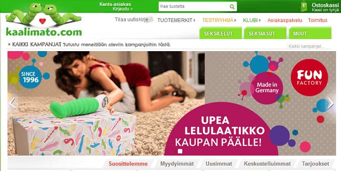 Kaalimato.com etusivu