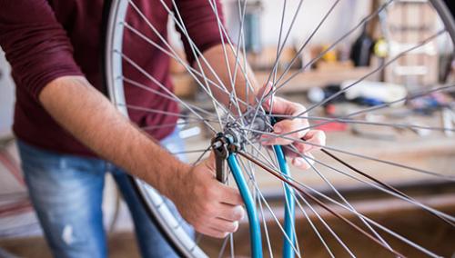 lets deal polkupyörän korjaus