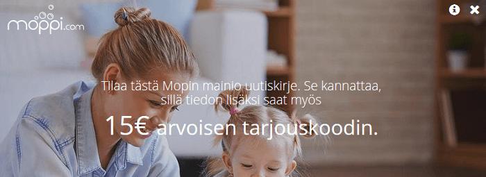 moppi.com tarjous etukoodit ja kupongit