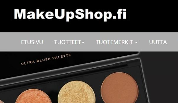 Makeupshop etusivu