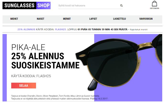 Sunglasses-shop verkkokauppa