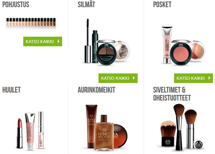 Luonnonmukaisia ja eettisiä meikkituotteita