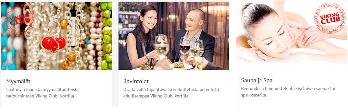 Nauti clubilaisen eduista laivassa ja maissa.