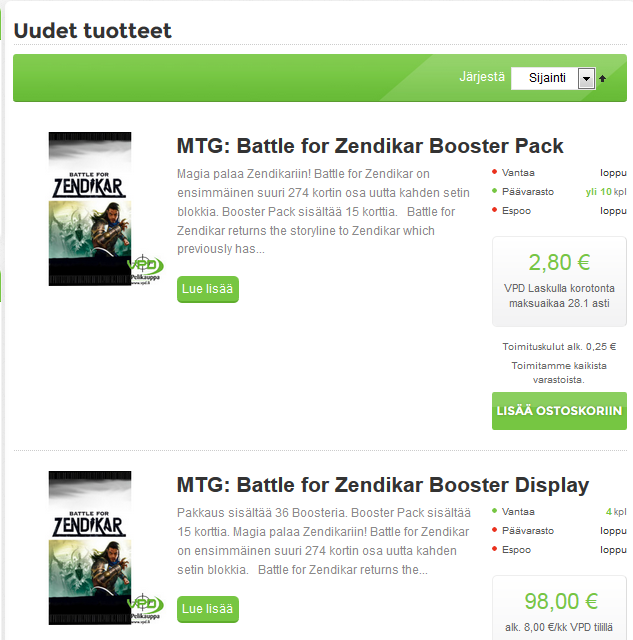 vpd uudet pelit halvat hinnat alennus