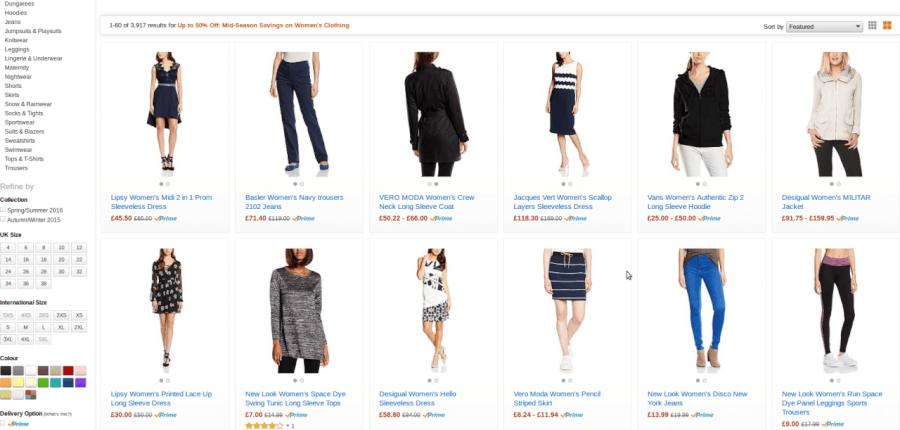 Στο Amazon θα βρεις γυναικεία ρούχα σε μοναδικές τιμές!