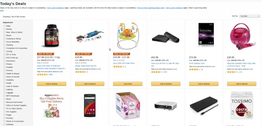 Επωφελήσου από τις καθημερινές προσφορές Amazon!