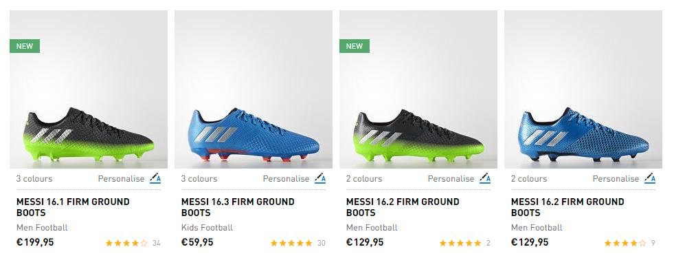 Τα καλύτερα ποδοσφαιρικά παπούτσια σε περιμένουν σε μοναδικά σχέδια!