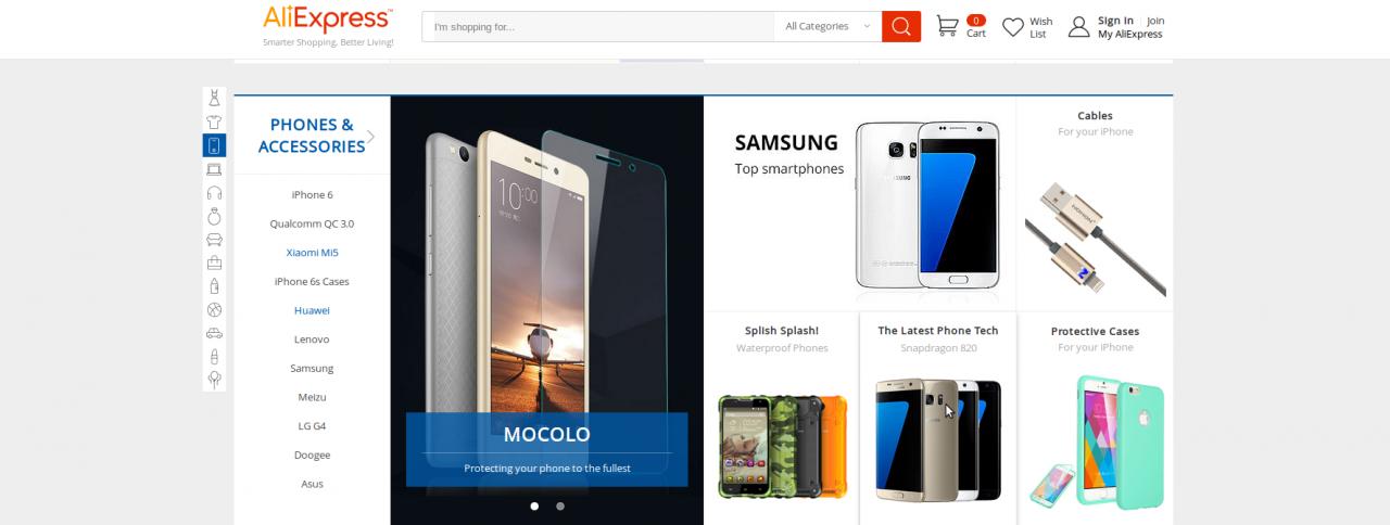Στο AliExpress.com θα βρεις κινητά τηλέφωνα και όλα τα ηλεκτρονικά είδη τελευταίας τεχνολογίας!