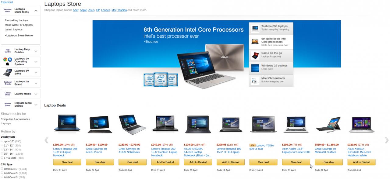 Υπολογιστές και όλων των ειδών οι συσκευές σε περιμένουν στο Amazon!