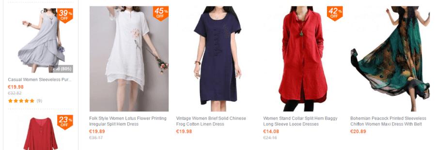 Η κάθε γυναίκα μπορεί να βρει τα ρούχα και αξεσουάρ που της ταιριάζουν!
