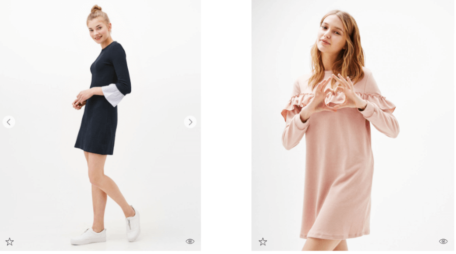 Τα πιο όμορφα φορέματα σε περιμένουν στο bershka.com!