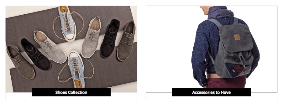Εδώ θα βρεις πλούσια ποικιλία σε ανδρικά ρούχα, παπούτσια και αξεσουάρ!