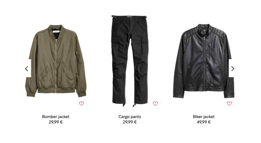 Για άνδρες που θέλουν προσεγμένη εμφάνιση, ρούχα, παπούτσια και αξεσουάρ μόνο στο hm.com!