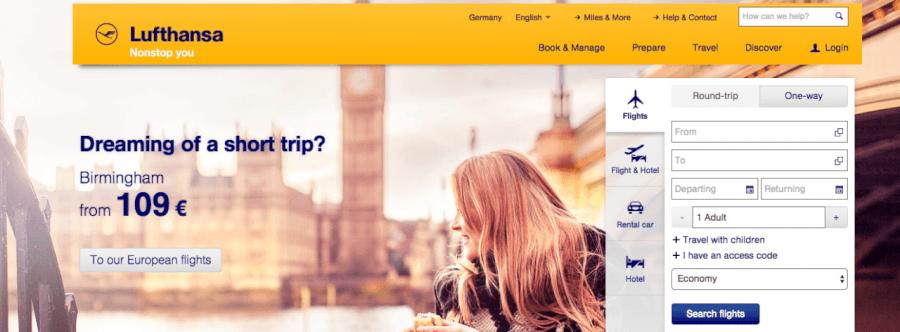 Απόλαυσε τις μοναδικές υπηρεσίες που προσφέρει η Lufthansa!