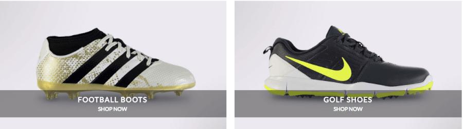 Εδώ θα βρεις μεγάλη ποικιλία σε παπούτσια όλων των αθλημάτων!
