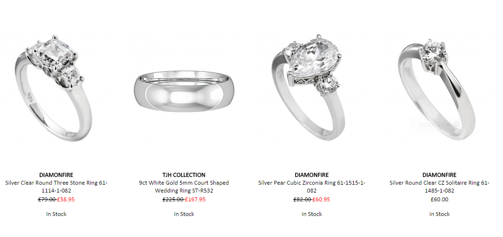 Στο thejewelhut.co.uk μπορείς να βρεις κοσμήματα για την πιο σημαντική στιγμή της ζωής σου.