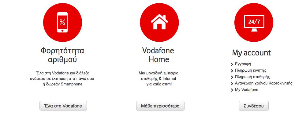 Επωφελήσου από την ποικιλία προγραμμάτων που σου προσφέρει η Vodafone!