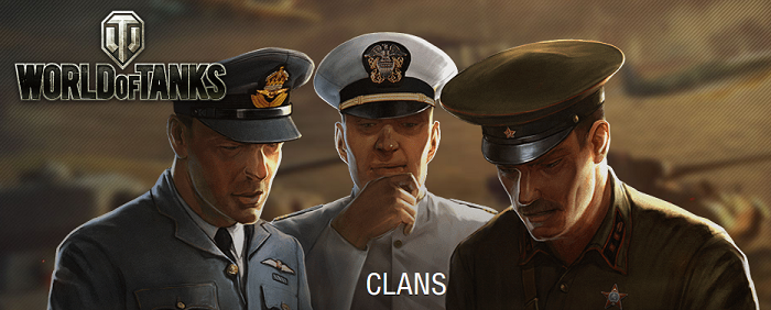 Clans at World of Tanks