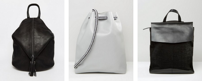 Asos backpacks