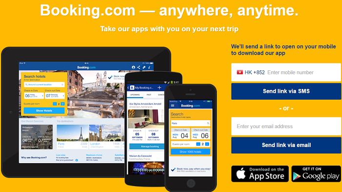 Booking.com app - book on the go!