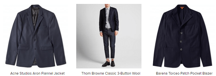 Suits at End Clothing