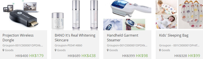 Save on goods and services with Groupon
