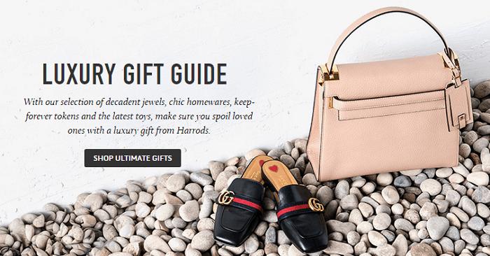 Harrods luxury gifts