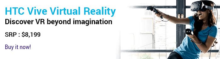 Virtual Reality at HKT Shop
