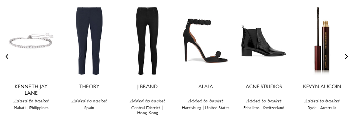 Items available at Net-A-Porter