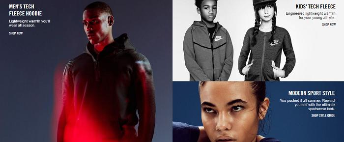 Clothing at Nike
