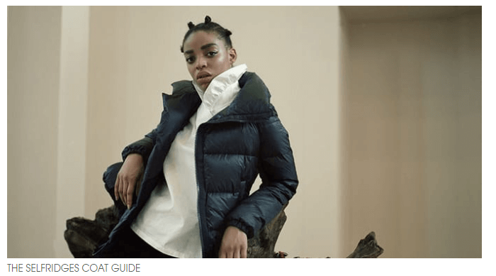 Selfridges Coat