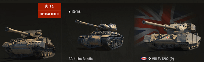 World of Tanks special offer