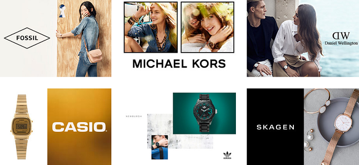 Branded watches at Zalora