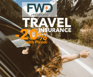 -20% on Travel Insurance at FWD