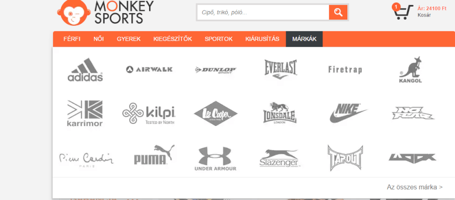 monkey sports markak