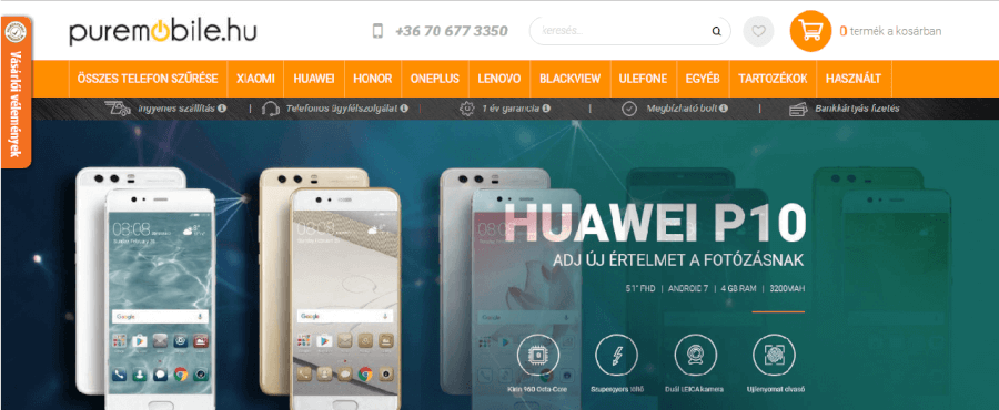 puremobile fooldal