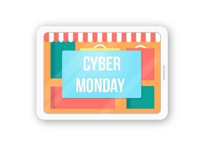 The Cyber Monday 2018 sale at Best Buy is November 26 2018 Its always the first Monday after Thanksgiving with some deals extending into full Cyber Week offers