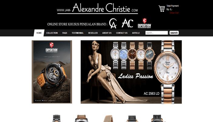 Toko Online Alexandre Christie