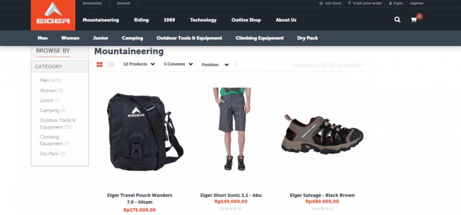 Mengapa Belanja Online Kebutuhan Outdoor di Eiger Adventure
