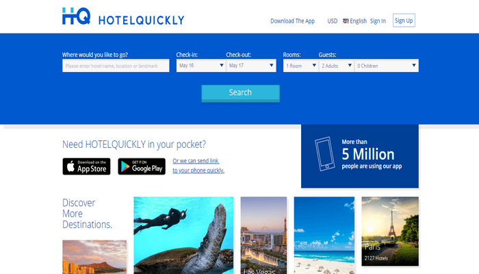 Situs Online HotelQuickly