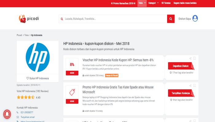 Cari Kode Diskon HP Indonesia di Picodi