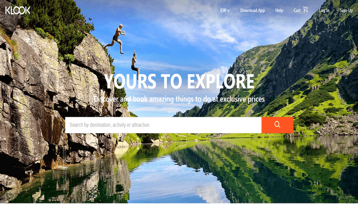 Toko Online Klook Travel