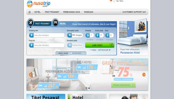 Situs resmi NusaTrip