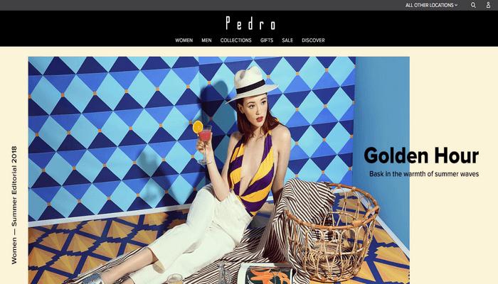 Situs resmi Pedro Shoes