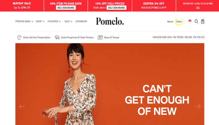 Toko Online Pomelo Fashion Indonesia