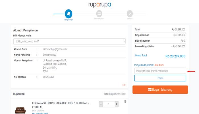 Gunakan kode promo Ruparupa dari Picodi