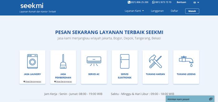 Situs resmi SEEKMI www.seekmi.com