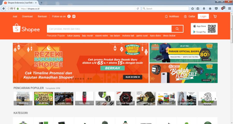 Hasil gambar untuk online store promo ramadhan